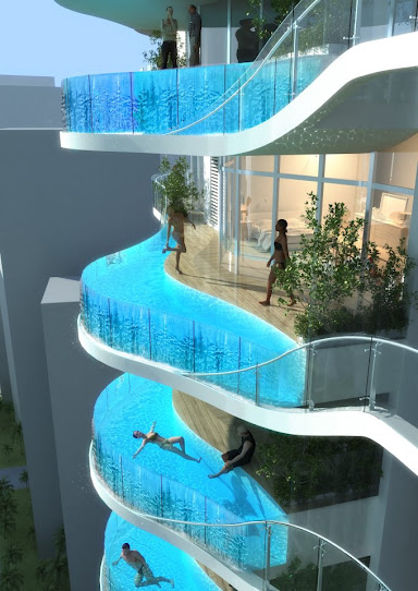 Fantasic Water Balconies